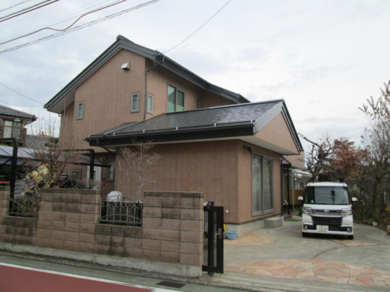 長野市T様邸外壁・屋根塗装工事