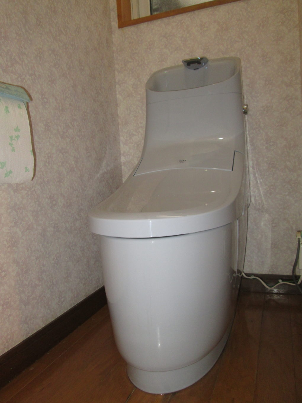長野市K様邸トイレ取替工事